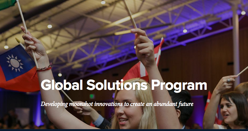 Expired: APPLY: Singularity University's 2017 Global Solutions Program in Silicon Valley